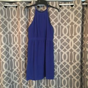 Shoshana royal blue dress
